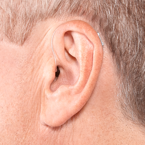 Receiver-In-Canal On Ear
